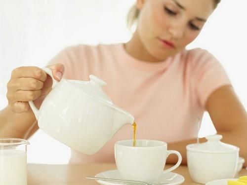 зеленый чай после еды для похудения