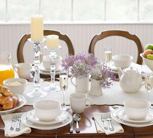 Сервировка чайного и фуршетного стола фото и видео