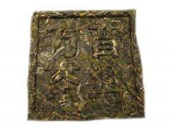 Чай Пуэр в форме квадрата