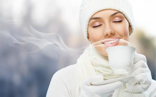 Чай зимой - пейте и согревайтесь!