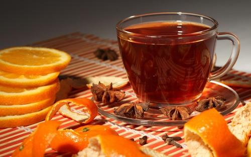 Чай с апельсином: рецепты