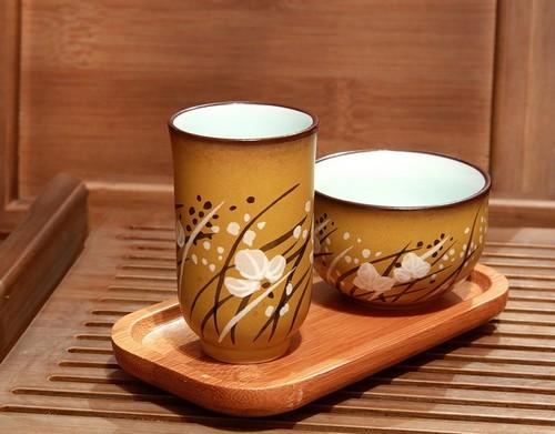 Чайная пара: чабэй (пиньминьбэй) и вэнсянбэй