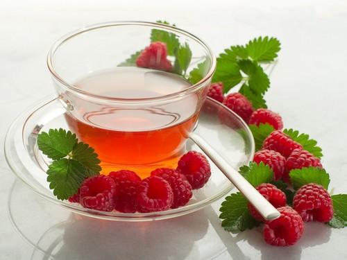 Чай с малиной при простуде как готовить