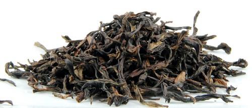 Так выглядят листья чая Да Хун Пао