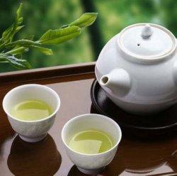 Цвет заваренного чая сенча