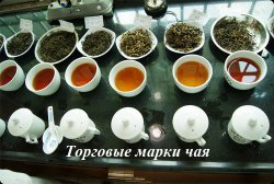 Торговые марки чая и их описание