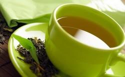 Зеленый чай помогает при изжоге