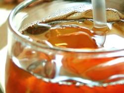 Бокал чая со льдом