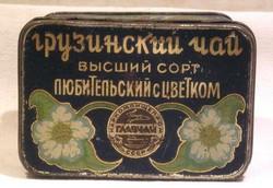 Грузинский чай в железной коробочке