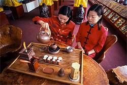 Как пьют чай в современном Китае
