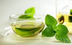 Мята и зеленый чай