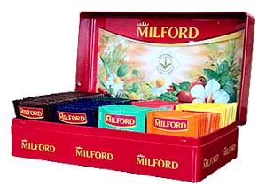 Коробка с разными чаями Милфорд