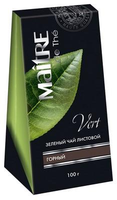 Зеленый листовой чай Maitre