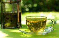 Зеленый чай утолит жажду летом