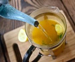 Чай из куркумы, рецепт